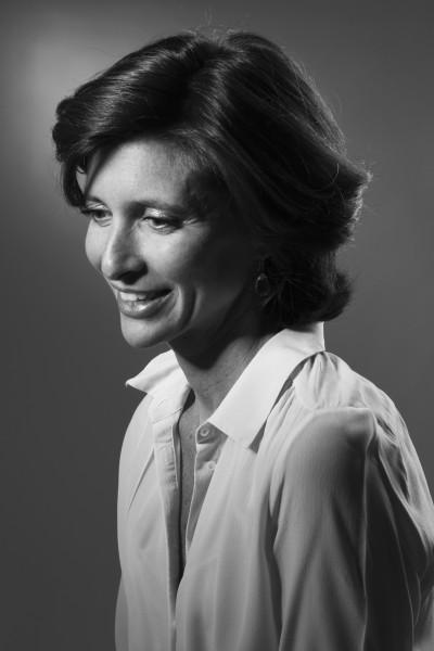Photographie femme en noir et blanc