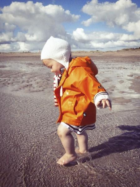 Photographie: enfant sur la plage