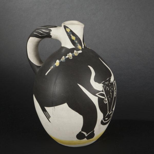 Photographie catalogue ouevre d'art: vase Picasso, par Valle Serrano, basée à Toulouse