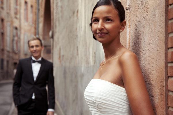 Mariage, séance photo en extérieur à Toulouse
