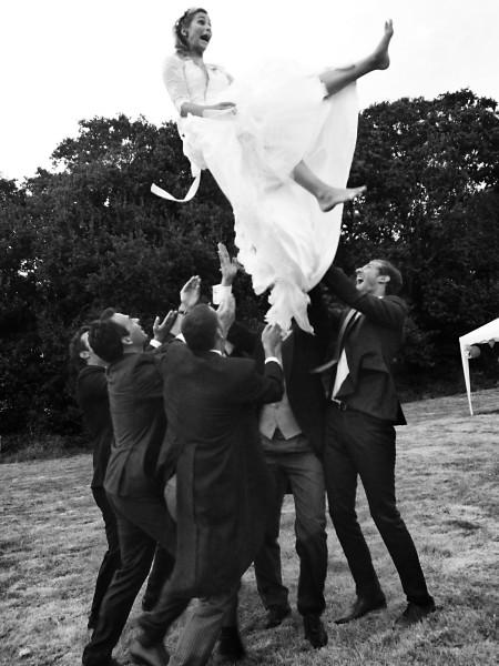 La mariée, reportage mariage noir et blanc