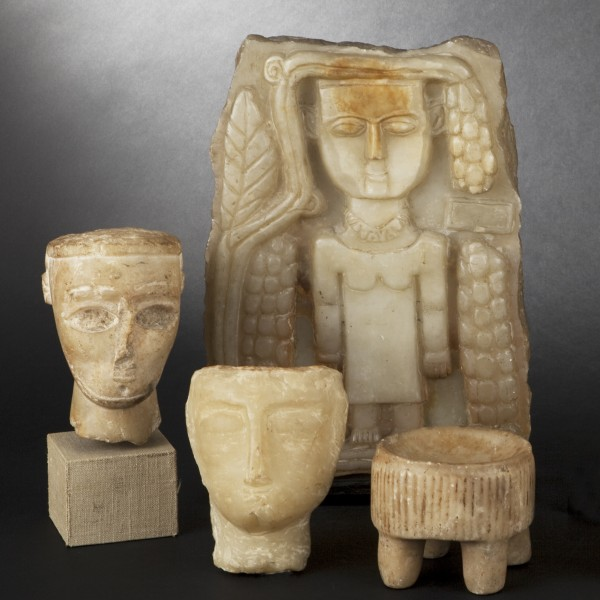 Photographie catalogue antiquités: sculptures, par Valle Serrano, basée à Toulouse