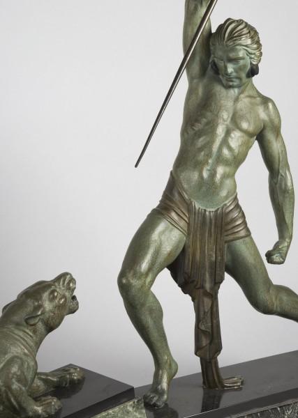Photographie catalogue ouevre d'art: sculpture en bronze, par Valle Serrano, basée à Toulouse